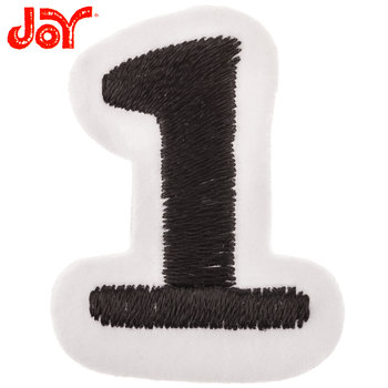 Embroidered Iron-On Number